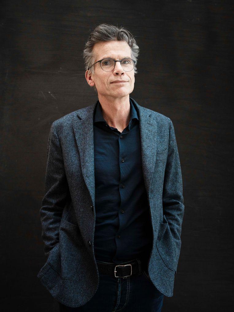 Hans Nijenhuis, nu nog hoofdredacteur van het AD. Beeld Kiki Groot