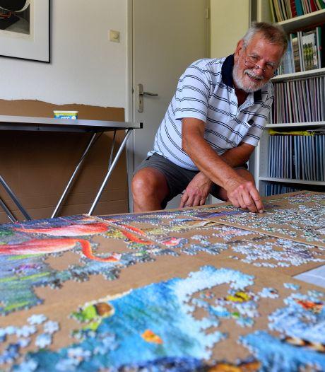 Puzzelexpert Jan (69) werkt aan giga-exemplaar van 33.600 stukjes: 'Deze heb ik af in april 2021'