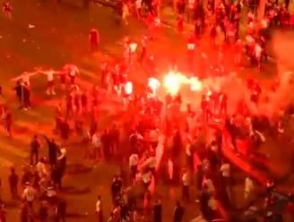 Rellen in Parijs na gewonnen halve finale: politie en fans in de clinch