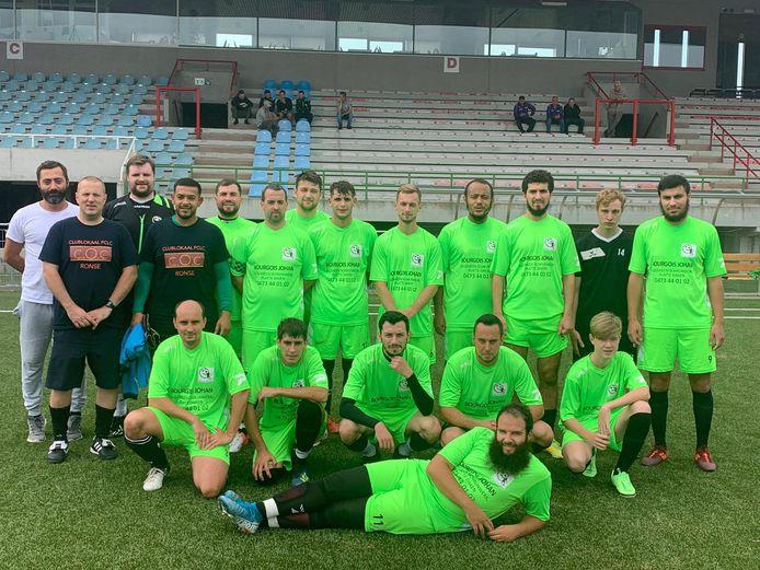 FC Lindsay Cleaning Ronse speelt in vierde provinciale. Tegen Mater ging de wedstrijd niet door vanwege hoogrisicocontacten.