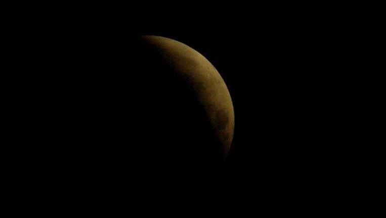 Een eerdere maansverduistering in 2003. © anp Beeld