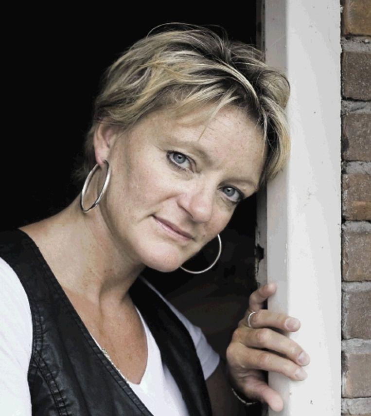 Ellen van Langen: 'Doping is voor mij een gevoelig onderwerp.' ( FOTO KOEN VERHEIJDEN) Beeld