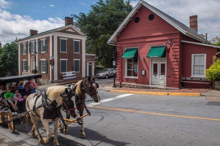 The Red Hen in Lexington in het westen van Virginia. Beeld AP