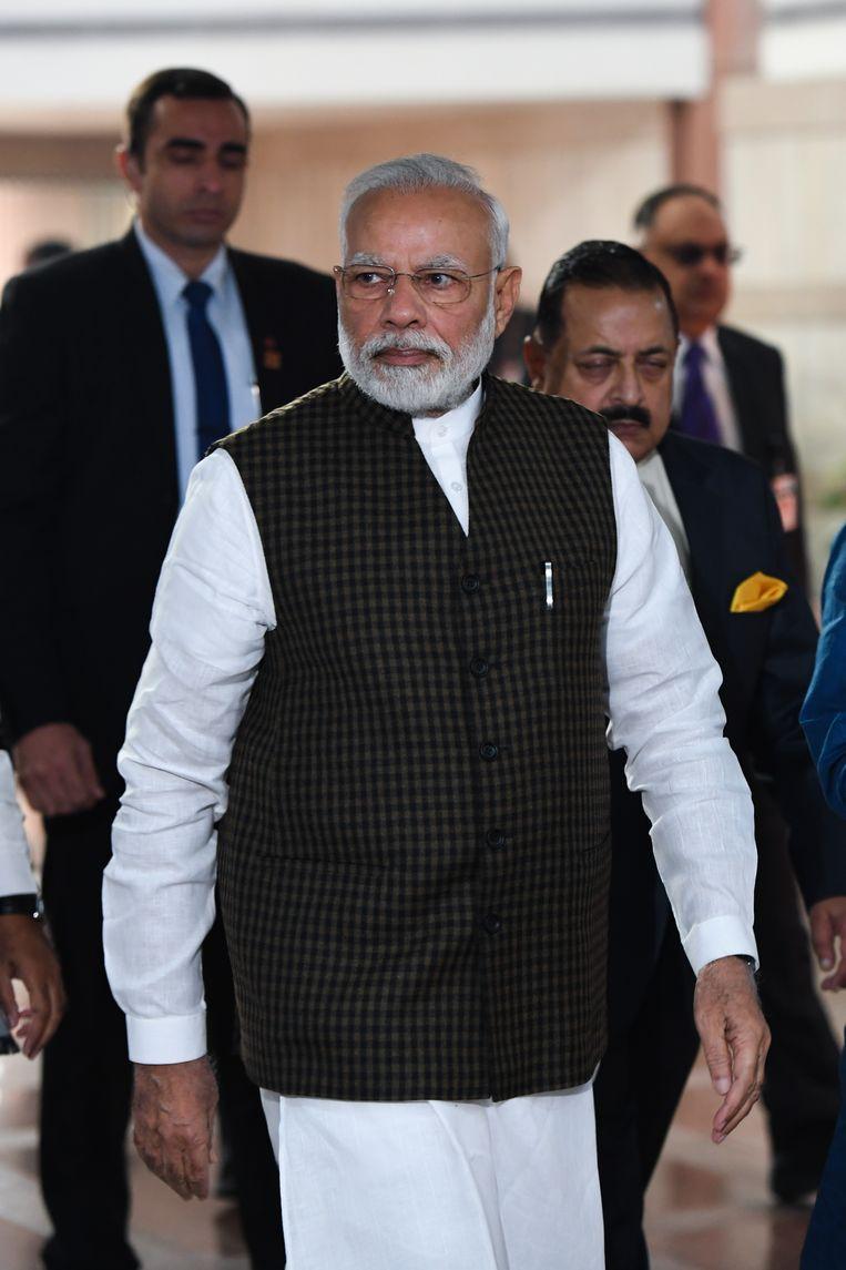 De premier van India voert veel hervormingen door die vooral gunstig zijn voor hindoes. Beeld AFP