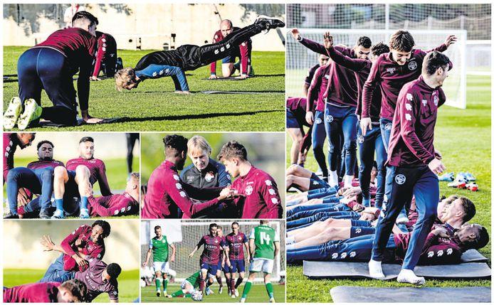Willem II op trainingskamp in Spanje.