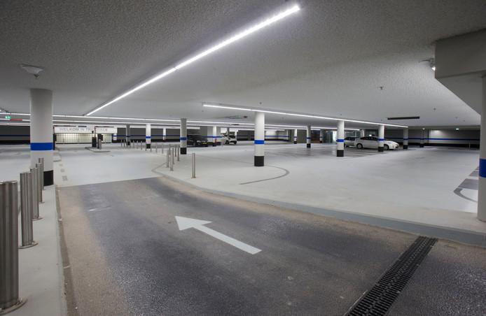 De parkeergarage van Tricotage in Veenendaal.