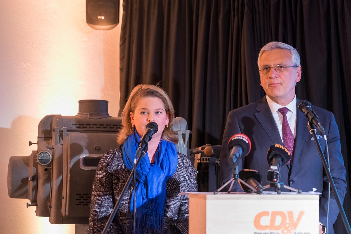 Kris Peeters en Ariane Van Dooren