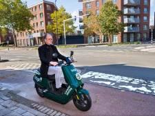 Eindhoven wordt overspoeld door groene deelscooters