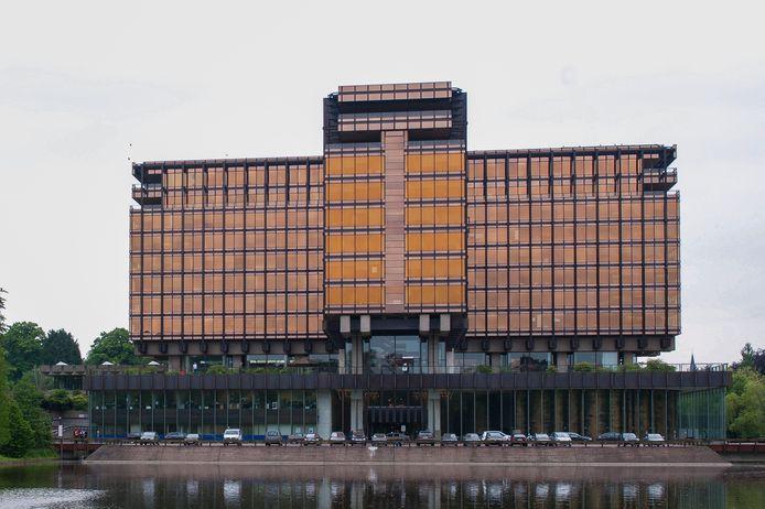 Het AXA-gebouw.