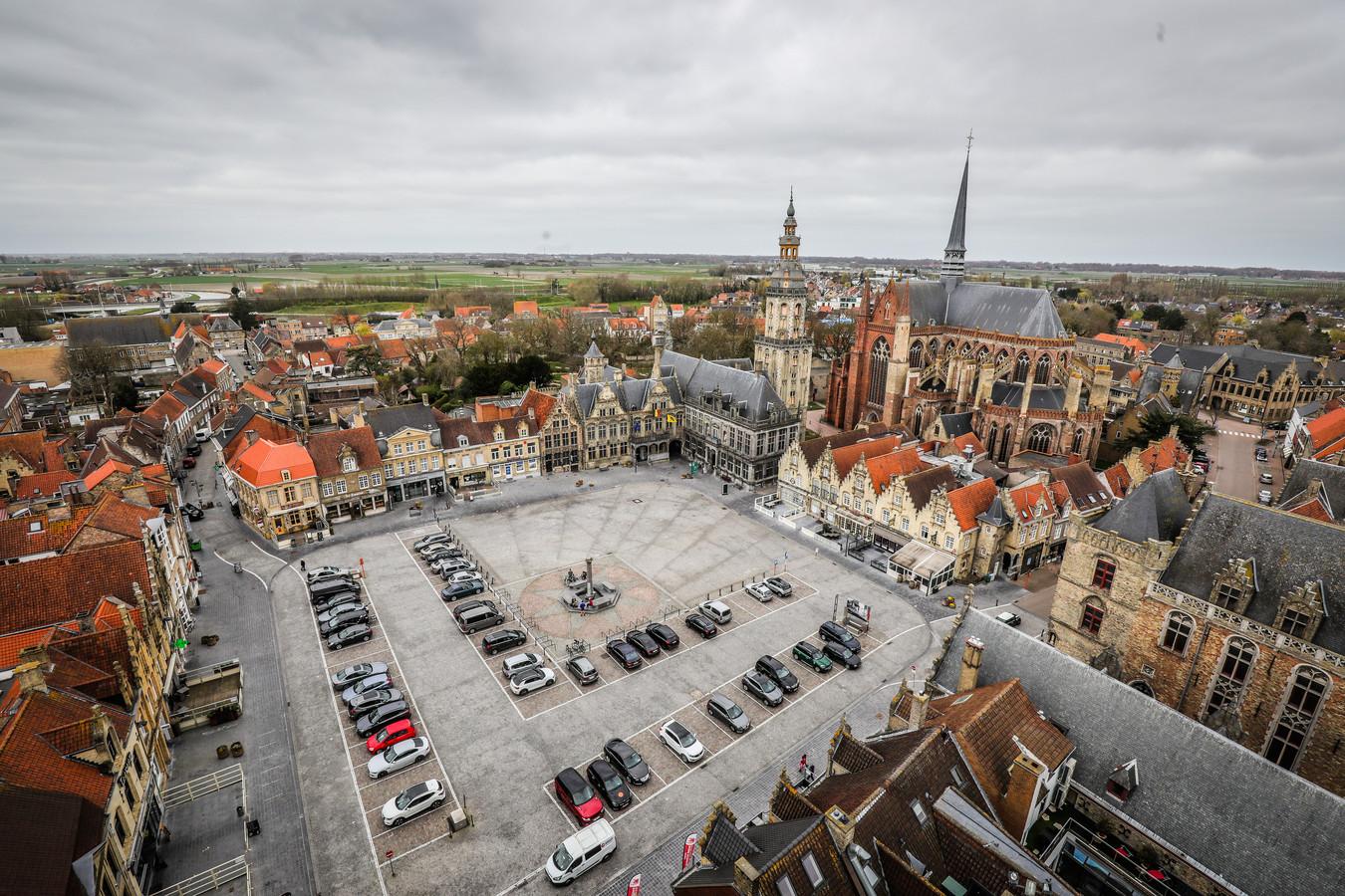 Het centrum van Veurne was afgelopen weekend het decor van enkele baldadigheden, waaronder een hevige vechtpartij in de Nieuwstraat.