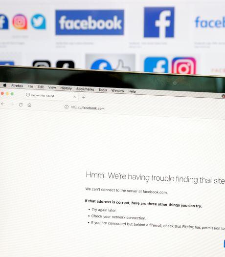 Wereldwijde storing bij Facebook vrij zeldzaam: 'Het is ernstig mis'