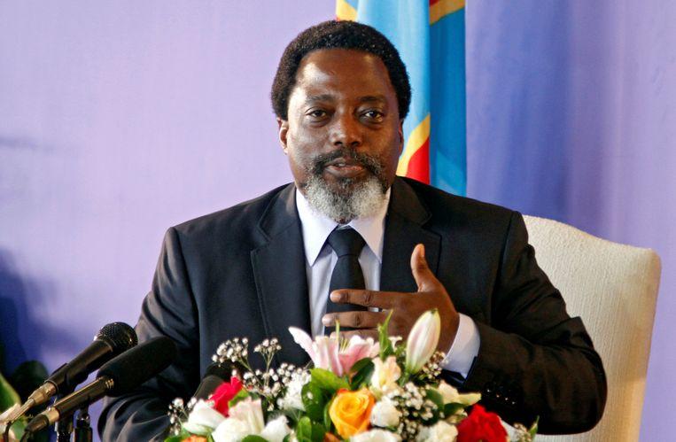 President Joseph Kabila, die aan de macht is sinds 2001, was geen kandidaat om herverkozen te worden. Beeld REUTERS
