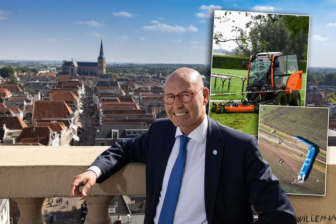 Bort Koelewijn maakte als burgemeester heftige ongelukken mee.