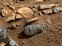 De rots waaruit de steenmonsters werden genomen.