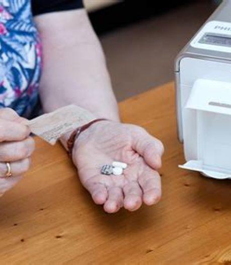 Proef met medicijnautomaat waardoor niet iedere dag een verpleegkundige langs hoeft te komen