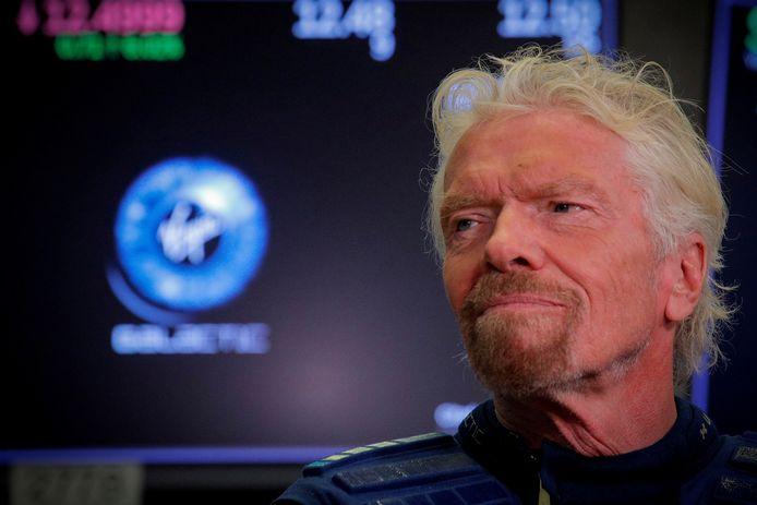 Richard Branson is er helemaal klaar voor: op 11 juli stapt hij in zijn raket.