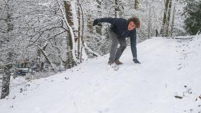 Opnieuw winterse neerslag verwacht: tot 10 centimeter sneeuw in Hoge Venen
