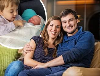 """Tweede kindje voor Evelien en Nicolas uit 'Blind Getrouwd': """"Welkom op de wereld"""""""