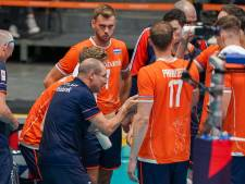 Wereldkampioen Polen maatje te groot voor volleyballers
