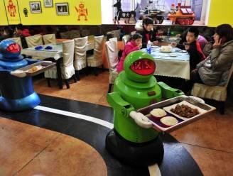 Robots nemen restaurant over
