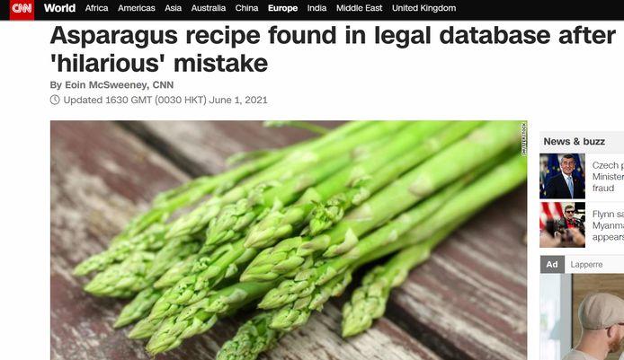 Het recept op de Amerikaanse nieuwssite CNN.