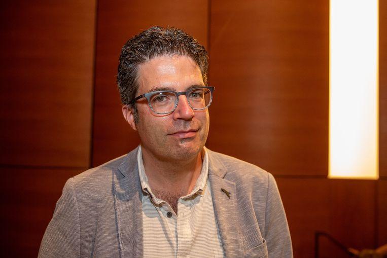 Professor Steven Van Gucht, viroloog bij Sciensano. Beeld BELGA