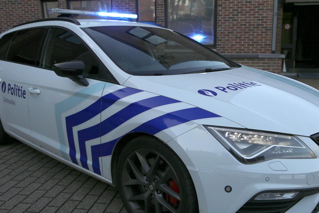 De politie kwam ter plaatse voor de nodige vaststellingen.