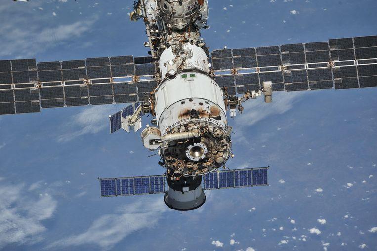 Het Internationaal Ruimtestation ISS. Beeld REUTERS
