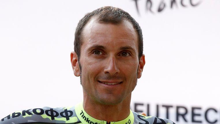 Ivan Basso. Beeld reuters