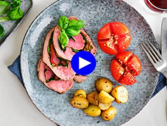 Een klassieker, maar dan anders: vul je rosbief op met Italiaanse lekkernijen