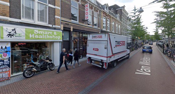 De Alchemist, op deze plek in de Van Welderenstraat in Nijmegen, moet op last van de burgemeester een jaar dicht.