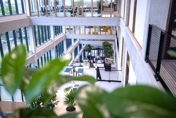 De Fontys hogeschool voor ict in Eindhoven.
