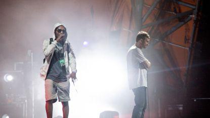 Zanger Gorillaz gewond na val van podium op Roskilde Festival