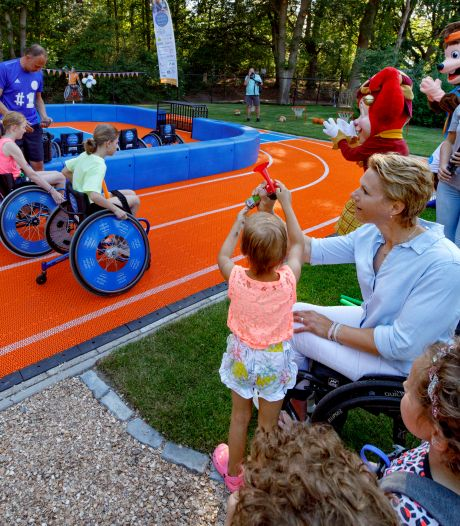 Voortaan elke dag sporten bij Villa Pardoes door de Esther Vergeer Foundation, ook mét een beperking