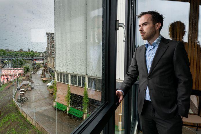 Wethouder Mike van der Geld, lijsttrekker voor D66 Den Bosch in 2022.