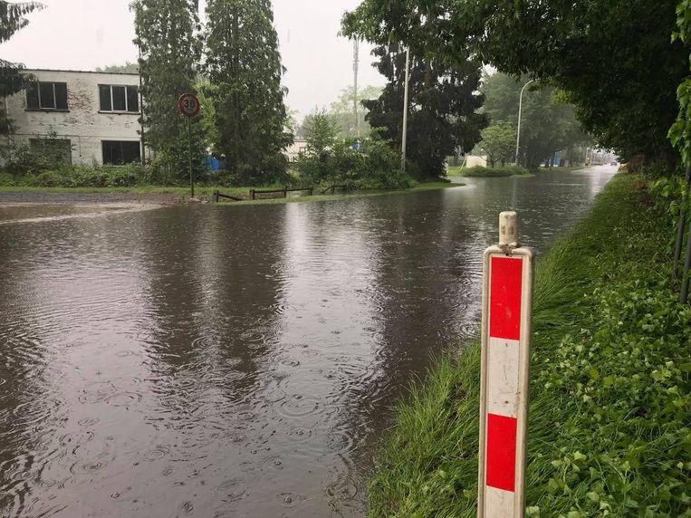 De Vaartstraat in Hulshout. Beeld RV Facebook