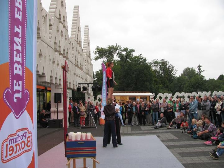 Archieffoto van de eerste Uitmarkt in Boxtel in 2012.