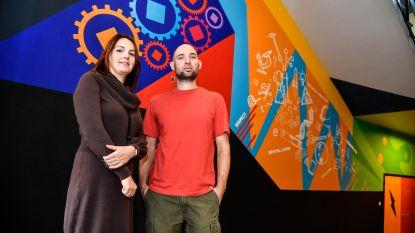 Gigantische muurschildering maakt O.Romerocollege hipper