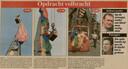 Het verslag van het verwijderen van het ballonzeil op maandag 10 juni, gepubliceerd in Het Laatste Nieuws van dinsdag 11 juni