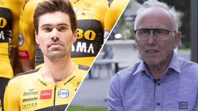 Tom Dumoulin en Joop Zoetemelk.