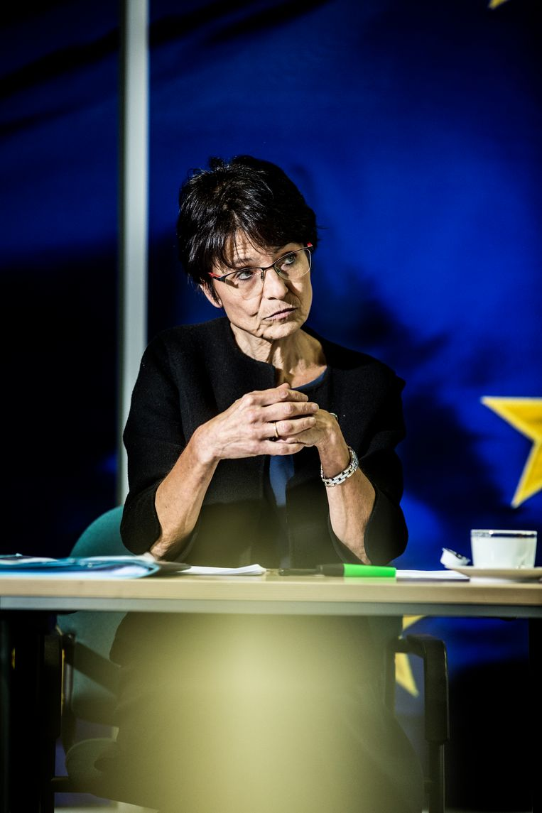 Marianne Thyssen. Beeld Franky Verdickt