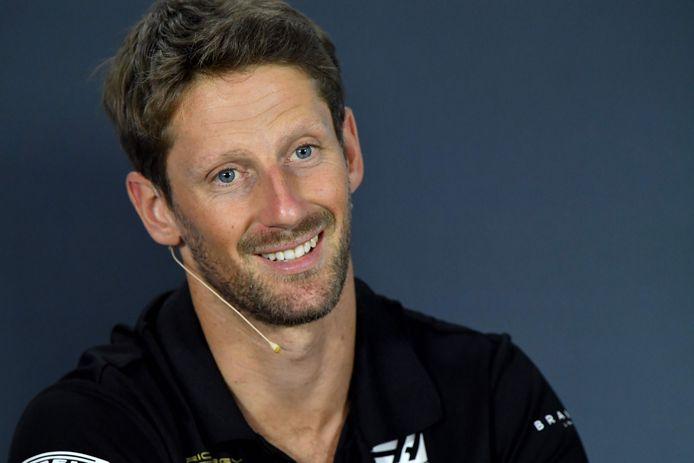 Romain Grosjean a découvert le bolide qu'il pilotera en IndyCar.