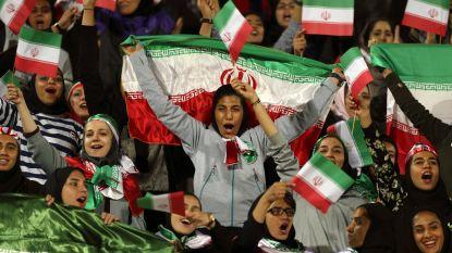 Vrouwen voor het eerst in dertig jaar welkom bij voetbalduel Iran