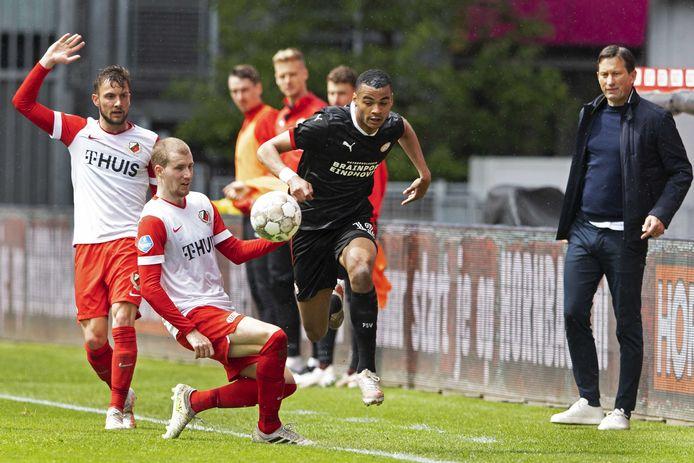PSV stelde de Champions League-voorrondes zondag veilig. Welke voorronde? Dat is nog onduidelijk.