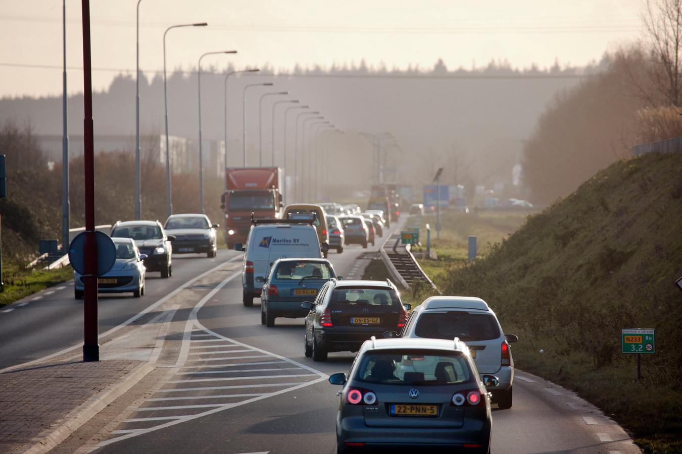 De Rondweg Oost in Veenendaal.