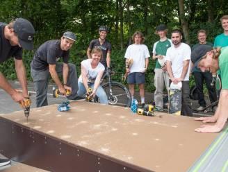 Skaters bouwen zelf mee aan pop-upskatepark in Zottegem