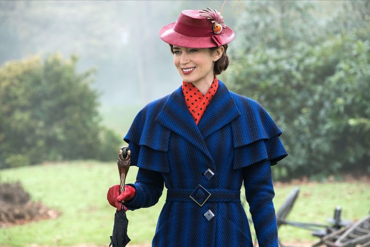 In 'Mary Poppins Returns' (2018).  Beeld Alamy Stock Photo