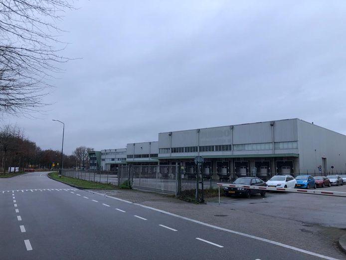 Het voormalig distributiecentrum van de Jumbo aan De Amert in Veghel.
