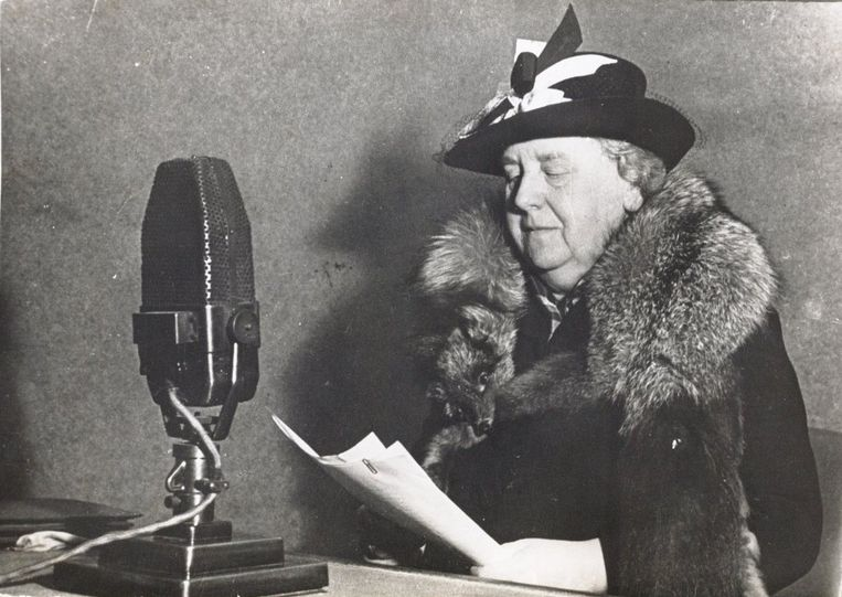 Koningin Wilhelmina: Bevrijdingstoespraak, 5 mei 1945 Beeld