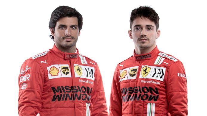 Carlos Sainz en Charles Leclerc.